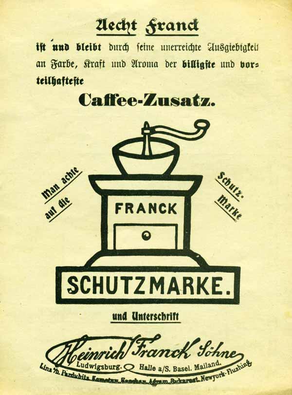 Tag des Kaffees, Mein Sammlerportal, Kaffee, Berlin, alte Reklame ...
