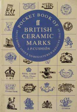 British Ceramic Marks, Pocket Book of